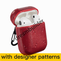 Cartas de moda Aripods Pro Casos Inalámbricos Bluetooth Auriculares Funda protectora Creative Airpods 1/2 Caso Color Color Láser