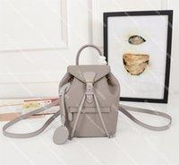 أعلى جودة مونتسوريس حقيبة جلد حقيقي فاخر مصمم حقائب النساء المدرسية الأزياء حقيبة الكتفين حقيبة سيدة الهاتف المحمول محفظة