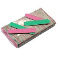 Mini Nail Files Colorful Wooden File di legno Lima Buffer Pedicure e Manicurelixa de Unha FAI DA TE Strumenti