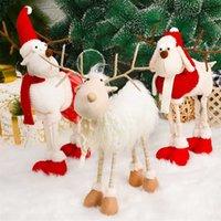 Navidad Reindeerクリスマスフィギュア装飾イヤーツリーエルク飾りホームウィッシュダウン211025