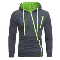 Neue Ydtomm Marke Männer 2021 Männliche Langarm Hoodie Features Zipper Sweatshirt Mens Moletom Masculino Hoodies Slim Trainingsanzug JZ2A