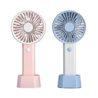 Electric Fans Mini Portable Handheld Air Cooler Fan USB Rechargeable Small Personal Cooling Tools For Home Office Outdoor Travel