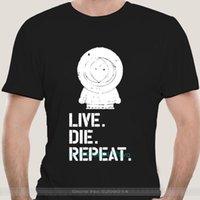Men's T-Shirts Cotton Tshirt Men Summer Fashion T-shirt Euro Size T Shirt Southpark Kenny Die Tshirts