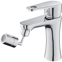 Universal 720 Rotation Tap Aerator Splash Proof Filter Faucet Swivel Movable Saving Water Replacement Bathroom Kitchen Tap Hole Fauce 134 V2