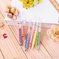 200pcs 6 Colors Novelty Nurse Needle Syringe Shaped Highlighter Markers Marker Pen Pens Stationery School Supplies
