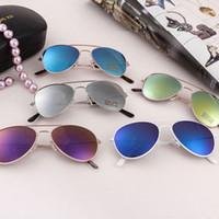 Gafas de sol de fiesta para niños Espejo de rana Gafas de sol para niños Niños y niñas Piscina de Piscina Piscina de Playa de verano Favores Fun Gifts Eyewear LJJK2516
