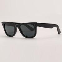 الرجال النظارات الشمسية أزياء المرأة خمر مكبرة نظارات الشمس الأشعة فوق البنفسجية حماية الزجاج العدسات رجل النظارات مع أعلى جودة حقيبة جلدية