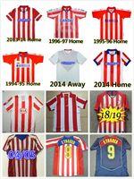 Retro 2003 2004 2004 2005 Hundertjähriger ATLETICO Fussball Jerseys 1994 1996 1997 10 11 13 14 15 TORRES Simeone Kiko Caminero Futbol Football Hemd Classic Maillots Madrid