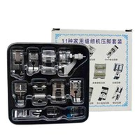 Sewing Notions & Tools 11pcs Machine Presser Feet Set Professional Domestic Foot Kits For Low Shank Home Accessories