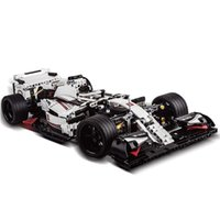 1235Pcs 1:10 Scale Formula Car 911 DIY MOC Small Particle Construction Building Kit Best Gift For 8+ (Static Version) X0127