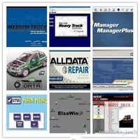 AllData 1TB 10.53V 수리 소프트웨어 도구 생생한 워크샵 데이터 ATSG 49 In1 HDD USB3.0 자동차 트럭에 대한 전체 세트