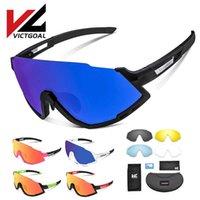 نظارات فيفيال الدراجات في فيفيال استقطاب الرجال الدراجات النظارات الشمسية uv400 الرياضة الجري نظارات 5 عدسات MTB دراجة الدراجات المشي النظارات X0726