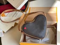 Coeur Tote Üzerinde En Kaliteli Oyun Vintage Çanta Messenger Omuz Çantaları Mini Desinger Kırmızı Kalp M57456 Çanta Luxurys Tasarımcılar Crossbody Çanta
