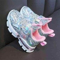 Princess Shoes Girl Children Spring Girls Kids Designer Bring for Big Sneakers 210913