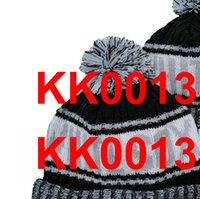 Men All Team Knitted Cuffed Pom Beanie NE Hats Chicago Sport Knit Hat Striped Sideline Wool Warm Baseball Beanies Cap For Men's Women's American caps A1