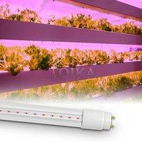 Toika 15PCS (15 х 50 Вт) 750 Вт 5FT Светодиодные огни Труба 4000 Вт Эквивалентный полный спектр 1500 мм Светодиодный рост лампы крытого завода