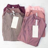 Yoga desgaste jaquetas com capuz camisolas womens designers casaco de jaqueta de esportes casacos de dupla lenço de lixamento de aptidão Cobilado de cabazes de manga comprida