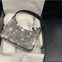 Top Qualität Diamant Handtasche Leinwand Hobo Bag Designer Umhängetaschen Für Frauen Brust Pack Mode Tote Ketten Hand Lady Presbyopic Geldbörse Handtaschen Großhandel Diamanten