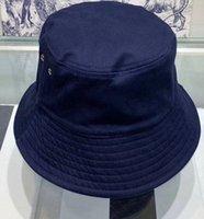 Factory Outlet Luxury Brand Hats&Caps 2021 New Style Bucket s Women Fashion Designer Basin Nylon Sun Cap Black Outdoor Travel Men 2