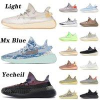 En Kaliteli 2021 ASH İnci Mavi Koşu Ayakkabıları Yecheil Mono Clay Mist Erkek Bayan Tenis Cinder Karbon Kuyruk Lighte Keten Eğitmenler Spor Sneakers