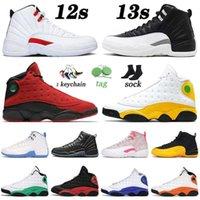 Top Jumpman 12 12s XII Basketball Shoes 2022 Play s Twist Mens Womens 13 Flint 13s XIII Reverse Bred Hyper Royal Trainers Sneaker sneakerrun