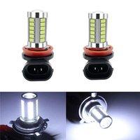 Luzes de emergência 2pcs H4 H7 H8 / H11 9005 9006 5630 Alta Qualidade 33 SMD LED Auto Nevoeiro Carro Anti Lâmpada Foglamps 6000K