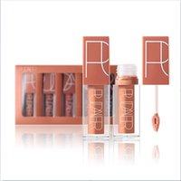 PUMAIER Brand 5pcs / lot Lipgloss Batom Matte Valentine Liquid Liquid Set Set Nude Rosa Lip Stick Kit Compleanno Edition Trucco Lips