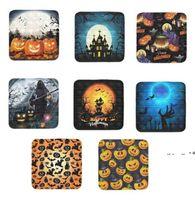 Halloween Pumpkin Devil Skull Magic Castle Pioneer Fidget Toys Fruit Balls Push Bubbles Children's Autism Stress Reliever Puzzle EWA860