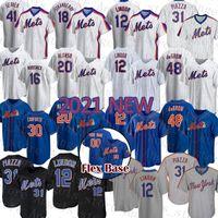 Nouvelle Mens York Mets Custom Mets Women 12 Francisco Lindor Baseball Jersey 20 Pete Alonso Jeunesse 48 Jacob Degrom 21 Todd Frazier 8 Gary Carter