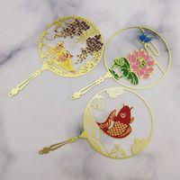 Fornecimento direto do fabricante Os marcadores de cobre formatura temporada cultural e criativo presentes metal chinês estilo estudante personaliza