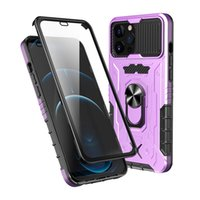 Full Body 360 Protection Shockproof Case ring stand with screen protector for iPhone 13 pro max 12 11 xr 7 8 plus