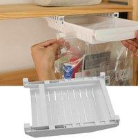 Kitchen Storage & Organization Bag Rack Holder Refrigerator Organizer Bins Save Space Rail Sliding Freezer Tray Seal-top Clip Hanging T8X1