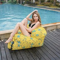 Outdoor Pads Swimming Pool Floating Sofa Music Festival Camping Inflatable Air Chair For Beach