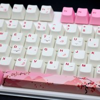 Chaves PBT Keycaps Conjunto Teclado Mecânico para Cherry / Kailh / Gateron / Outemu Switch Keyboards Acessório