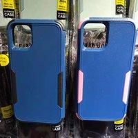 آيفون 12pro ماكس 11Pro XR X / XS 6/7/8 زائد حالة المطاط طلاء ماتي درع PC + TPU الثلاثي الوفير سامسونج A11 A21 A71 A51 5G حالة الهاتف