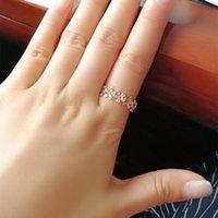 Серебряное стеклобеточное бесконечное сердце ромашки цветочное кольцо для женщин оригинальные кольца бренд ювелирных изделий подарок