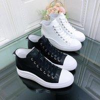 Шпинг женские летние белые ботинки толстые адиплитные кроссовки высота повышенные повседневные пантовки мода мода высокой платформы леди платье