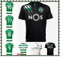 20 21 Esportivo CP Lisboa Soccer Jersey Phellype 2021 Fernandes Dost Vietto Coates Acuna Jovane Football Shirt