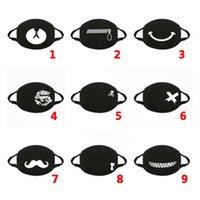 Erwachsene Designer Maske für Cartoon Design Waschbare Baumwollmasken Schwarzer Leben Matter Masken Mode