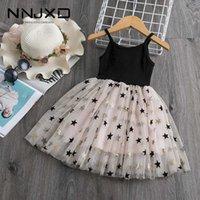 3-8 년 소녀 드레스 여름 키즈 드레스 여자 패션 어린이 의류 세트 디자이너 아기 소녀 옷 여자 Tutu dresses y0918