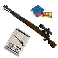 1: 1 مقياس 98 كيلو قناص بندقية بندقية نموذج papercraft لعبة diy 3d ورقة بطاقة نموذج العسكرية اللعب اليدوية لصبي هدية