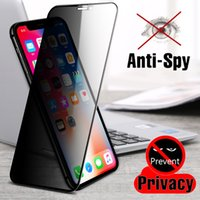 Full Cover Anti Spy Screen Protector For iPhone 12 Pro X XR XS Max Privacy Glass For iPhone 11 Pro 7 8 6 6S Plus Tempered Glass