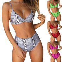 Bikinis 2021 Mujer Sexy Push Up Padded Brazilian Bikini Set Women Bandage Swimsuit E Bathing Suit Micro Women's Swimwear