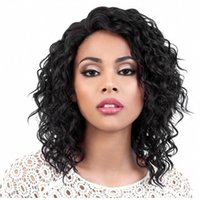 Human tousle Capless Wigs Center-divided small volume fluffy front lace headgear Peruvian hair 150% Density factory wholesale