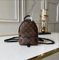 Palm Springs Mini рюкзак женщин Shcool сумка роскошные сумки для наплечника дизайнер путешествия сумки мешок сумки M44873