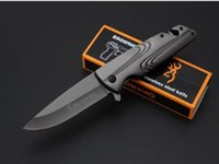 Browning 367 Titanium Tactical Folding Knife 5cr15mov Outdoor Hiking Camping Hunting Survival Pocket Utility Flipper EDC Tools