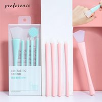 Silicone Makeup Brushes Set 5Pcs Eye Shadow Eyeliner Blending Mask Adjusting Stick Homemade Mud Brush Tools1