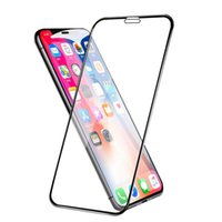 Protecteur d'écran de verre trempé pour iPhone 12 Mini Pro Max x XS XR 8 7 6S Plus de protecteurs de protection de téléphone portable SE2