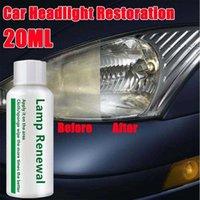 20 ml Araba Far Temizleme Tamir Sıvı Onarım Yenileme Sıvı Deterjan Araba Işık Temizleyici Çizik Sökücü Onarım Sıvı