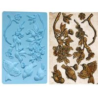 Flower Silicone cake mold fondant s decorating tools chocolate gumpaste soap resin s 210903